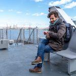 New York Ferry boat with Lilium SoundArt - Ph: Edoardo Legnaro
