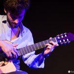 Francesco Rocco performing in Padova with Zephyros